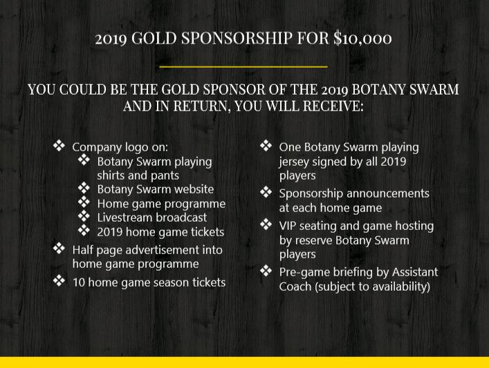 Gold Sponsorship Image