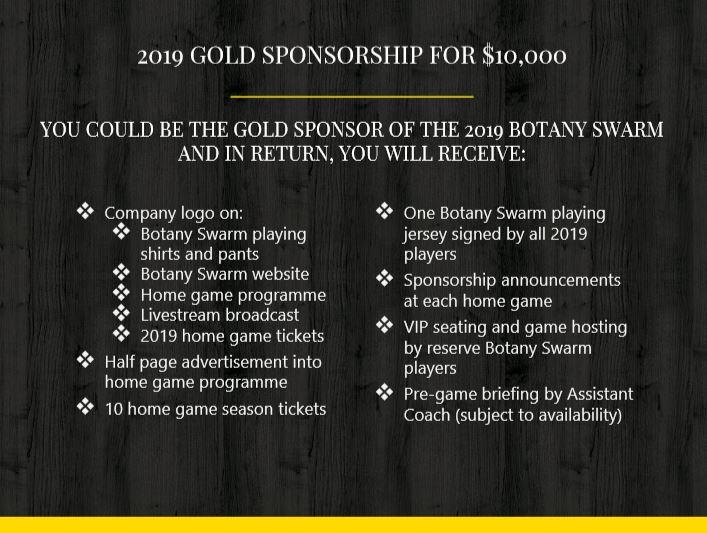 Gold Sponsorship Image